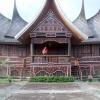 Rumah Gadang yang ada di kampung saya di Lubuk Basung, Kabupaten Agam, Sumatera Barat